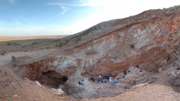 Jebel Irhoud site in Morocco.jpg